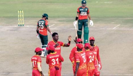 Batting collapse sees Bangladesh lose