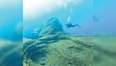 Deep-sea mountains