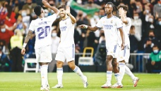 Real Madrid hit Mallorca for six