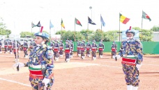 140 Bangladesh Police officers in Mali get UN Peacekeeping Medal
