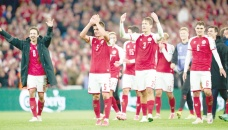 Denmark book World Cup ticket as England are held by Hungary