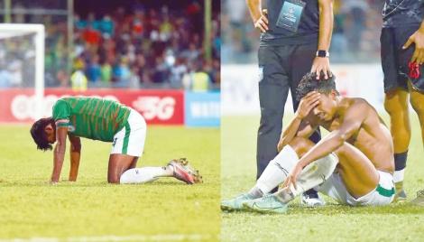 Heartbreak for 10-man Bangladesh