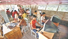 Floating school a boon for children