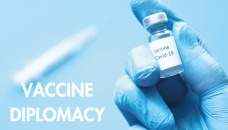 Covid-19 vaccine diplomacy: Politics and profit over people