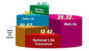 Five firms hold 66% of life insurance industry