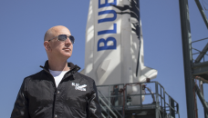Bezos eyes new frontier in space