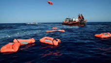 Migrant boat carrying 45 people sinks off Turkish coast